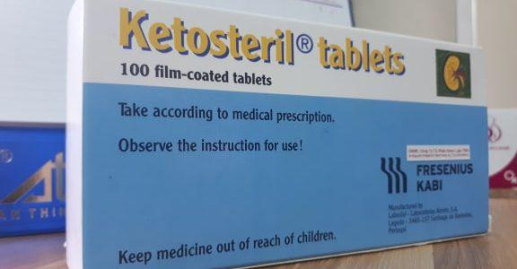 Thuốc Ketosteril dùng cho người suy thận