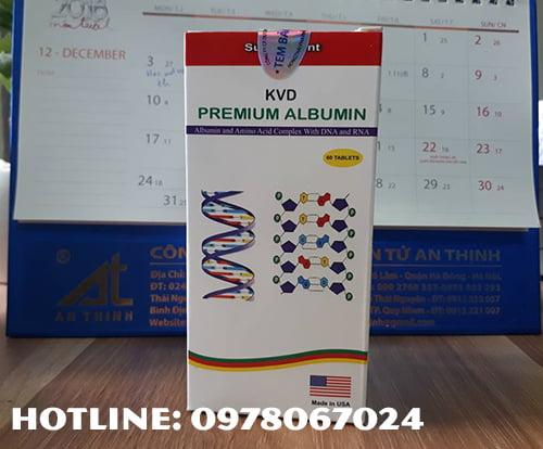thuốc Premium albumin giá bao nhiêu, thuốc Premium albumin mua ở đâu