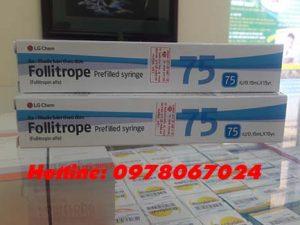 Thuốc Follitrope 75iu giá bao nhiêu, thuốc Follitrope 300iu mua ở đâu