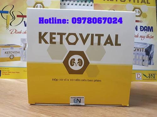THUỐC KETOVITAL MUA Ở ĐÂU, thuốc đạm thận ketovital