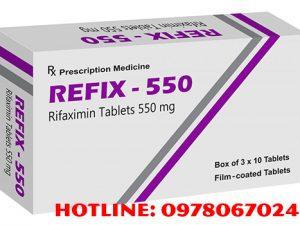 thuốc Refix 550mg giá bao nhiêu, thuốc Refix mua ở đâu