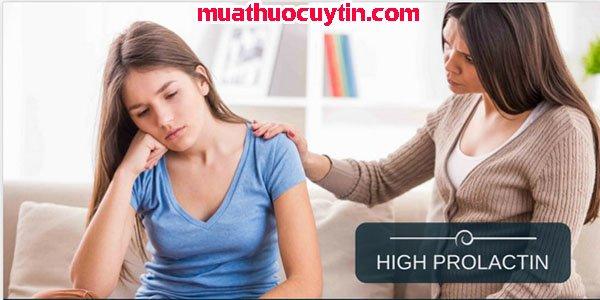 Thuốc điều trị prolactin cao cho nữ giới