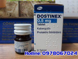 Thuốc Dostinex 0.5mg là thuốc gì, thuốc dostinex o.5mg mua ở đâu, thuốc Dostinex 0.5mg giá bao nhiêu tiền