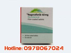 Thuốc Nublexa 40mg Regorafenib giá bao nhiêu, thuốc Nublexa 40mg regorafenib mua ở đâu