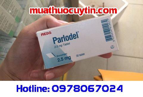 Thuốc điều trị prolactin cao Parlodel