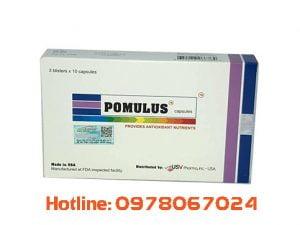 Thuốc Pomulus chữa bệnh gì, thuốc Pomulus giá bao nhiêu mua ở đâu chính hãng
