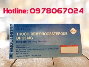 Thuốc Progesterone 25mg/ml giá bao nhiêu, thuốc Progesterone 25mg mua ở đâu, thuốc Progesterone 25mg/ml tiêm bắp
