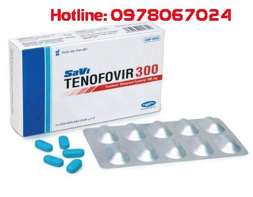 Thuốc Tenofovir Savi 300mg là thuốc gì, thuốc Tenofovir savi giá bao nhiêu, thuốc tenofovir savi 300mg có tác dụng gì, thuốc tenofovir savi mua ở đâu