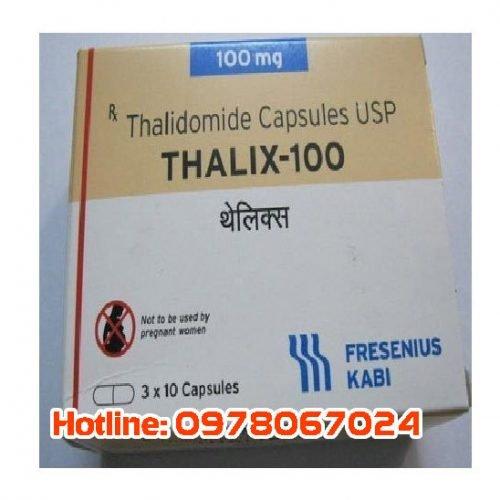 Thuốc Thalix 50mg giá bao nhiêu, thuốc thalix 100mg mua ở đâu