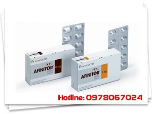 thuốc afinitor 5mg, 10mg giá bao nhiêu mua ở đâu