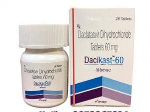 thuốc Dacikast 60mg giá bao nhiêu, thuốc dacikast 60mg mua ở đâu