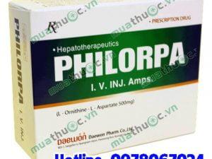 thuốc Philorpa 500mg giá bao nhiêu mua ở đâu