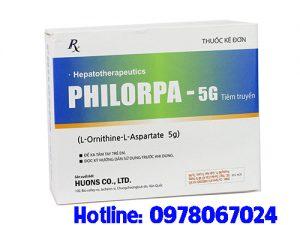 thuốc Philorpa 5g/10ml giá bao nhiêu mua ở đâu