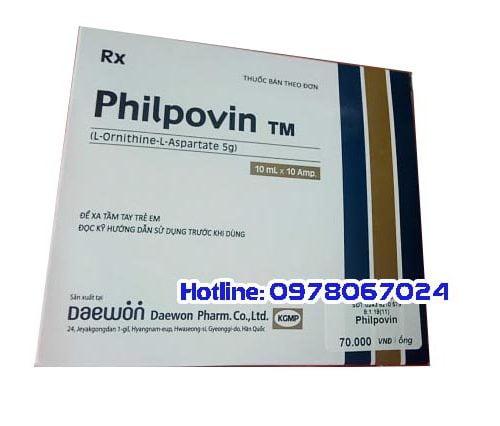 Thuốc Philpovin giá bao nhiêu, thuốc Philpovin mua ở đâu