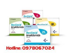 thuốc Revlimid giá bao nhiêu, thuốc revlimid mua ở đâu