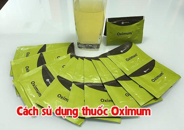 cách sử dụng thuốc Oximum