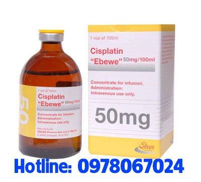 thuốc cisplatin 50mg Ebewe giá bao nhiêu mua ở đâu