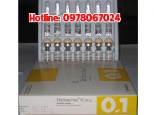 thuốc diphereline 0.1mg giá bao nhiêu, thuốc diphereline 0.1mg mua ở đâu