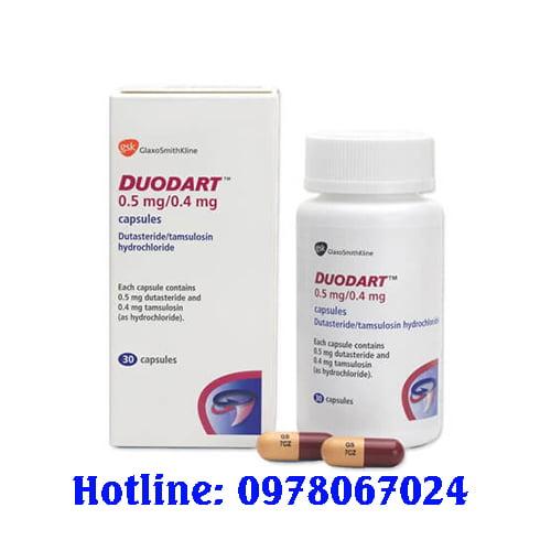 thuốc duodart giá bao nhiêu, thuốc duodart mua ở đâu