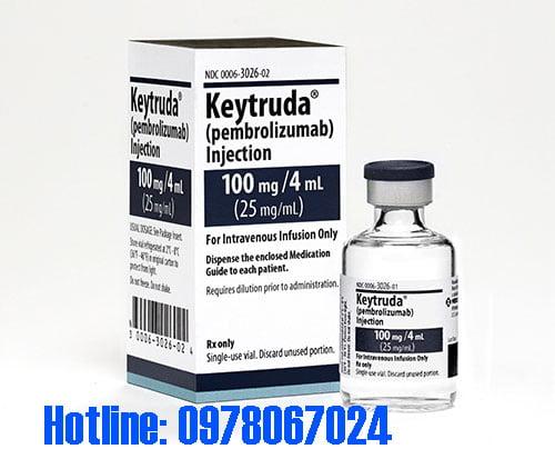 thuốc Keytruda 100mg/4ml giá bao nhiêu, thuốc Keytruda mua ở đâu