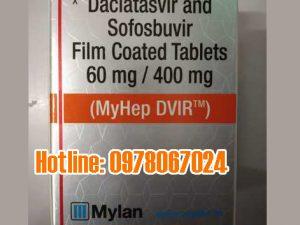 thuốc myhep dvir giá bao nhiêu, thuốc Myhep Dvir mua ở đâu