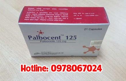 thuốc palbocent 125mg giá bao nhiêu, thuốc palbocent 125mg mua ở đâu