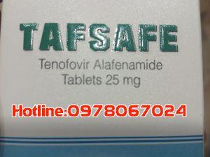 Thuốc tafsafe giá bao nhiêu, thuốc Tafsafe 25mg mua ở đâu