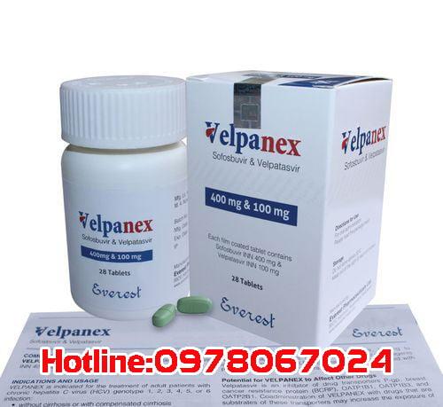 thuốc Velpanex giá bao nhiêu? thuốc Velpanex mua ở đâu