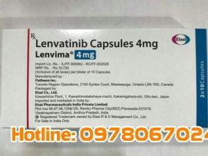 thuốc Lenvima giá bao nhiêu, thuốc Lenvima mua ở đâu