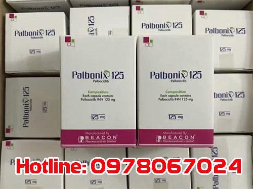 thuốc Palbonix 125 giá bao nhiêu, thuốc Palbonix mua ở đâu