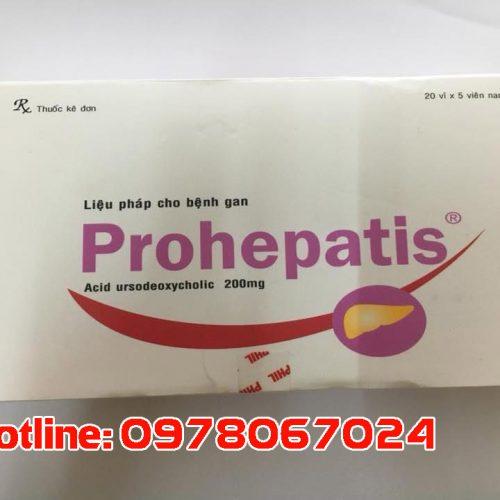 thuốc prohepatis giá bao nhiêu, thuốc prohepatis mua ở đâu
