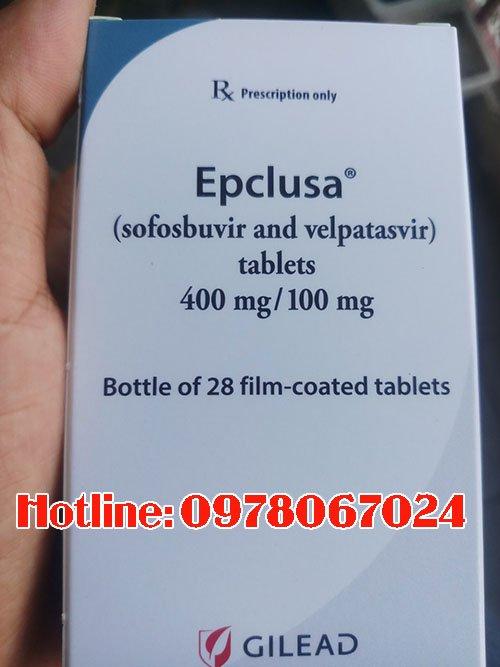 thuốc epclusa giá bao nhiêu, thuốc epclusa mua ở đâu chính hãng