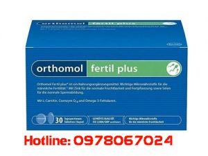thuốc orthomol fertil plus giá bao nhiêu, thuốc orthomol fertil plus mua ở đâu