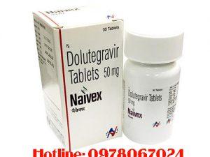 thuốc Naivex 50mg Dolutegravir Tablets giá bao nhiêu mua ở đâu chính hãng