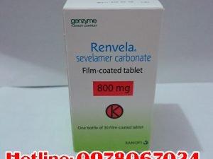 thuốc renvela mua ở đâu, thuốc renvela 800mg giá bao nhiêu
