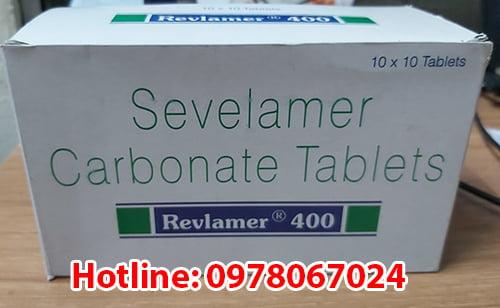 thuốc Revlamer 400mg sevelamer carbonate là thuốc gì? có tác dụng gì? thuốc revlamer giá bao nhiêu mua ở đâu