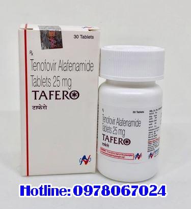 thuốc tafro 25mg mua ở đâu chính hãng , thuốc tafero 25mg giá bao nhiêu
