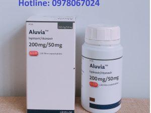 thuốc Aluvia chứa 2 hoạt chất thuốc lopinavir + ritonavir điều trị HIV, thuốc aluvia giá bao nhiêu mua ở đâu chính hãng