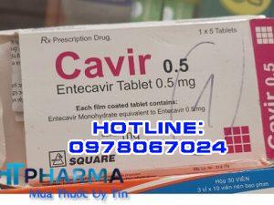 thuốc Cavir điều trị viêm gan B, thuốc Cavir giá bao nhiêu mua ở đâu chính hãng