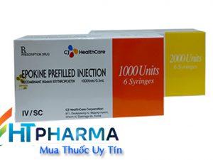 thuốc epokine 2000iu mua ở đâu chính hãng, thuốc epokine điều trị thiếu máu giá bao nhiêu tốt nhất