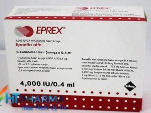 thuốc tiêm eprex 2000ui giá bao nhiêu, thuốc eprex 4000ui mua ở đâu chính hãng