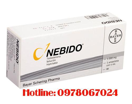 thuốc Nebido giá bao nhiêu, thuốc Nebido mua ở đâu