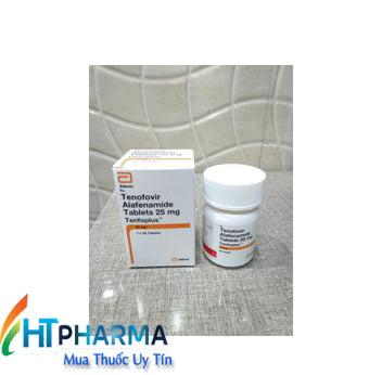 thuốc Tenfoplus hoạt chất Tenofovir Alafenamide 25mg mua ở đâu chính hãng, thuốc Tenfoplus Abbott giá bao nhiêu tốt nhất