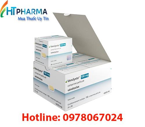 Thuốc Venclyxto giá bao nhiêu mua ờ đau chính hãng Hà Nội TPHCM