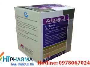 thuốc Akasoli Ultra Albumin là thuốc gì, giá bao nhiêu mua ở đâu chính hãng, công dụng thuốc akasoli có tốt không