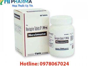 thuốc Nevimune 200mg Nevirapine tablets giá bao nhiêu mua ở đâu chính hãng, công dụng thuốc Nevimune