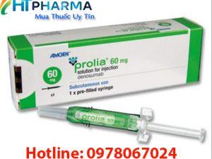 thuốc Prolia 60mg là thuốc gì, giá bao nhiêu mua ở đâu chính hãng, công dụng thuốc prolia