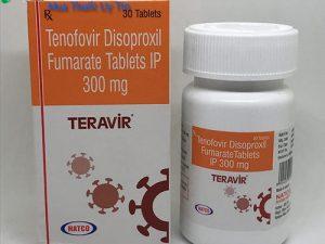 Thuốc Teravir 300mg là thuốc gì? có tác dụng gì? thuốc Teravir giá bao nhiêu mua ở đâu