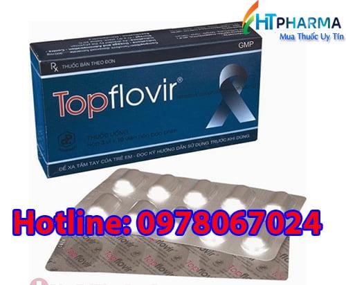 thuốc Topflovir 300 giá bao nhiêu mua ở đâu giá bao nhiêu chính hãng, thuốc Topflovir điều trị viêm gan B