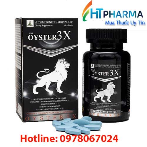 tinh chất hàu Oyster3x